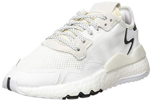 adidas Nite Jogger J Gymnastikschuh, FTWR weiß/FTWR weiß/kristallweiß, 40 EU