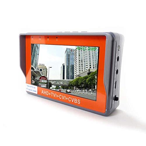 CCTV Security Camera Tester 1080P / 5MP AHD y CVBS y 5MP TVI y 4MP CVI Monitor de prueba de video analógico 4 en 1