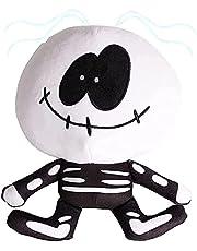 YTATY Vrijdag Night Funkin Pluche Toy, 20/30cm Spooky Maand Skid en Pomp Pluche Bundel Figuur Toy, Leuke Zachte Dier Gevulde Kussen Doll Toy, voor Spooky Maand Fans
