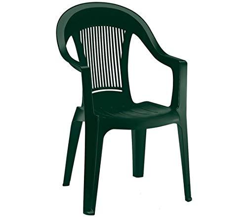 Scab Rudiano SAB226 Sedia Elegant 3, Verde