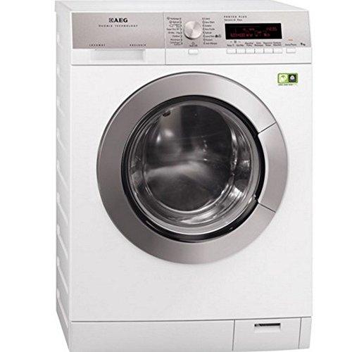 AEG L89499FL2 Libera installazione Caricamento frontale 9kg 1400Giri/min A+++ Argento, Bianco lavatrice