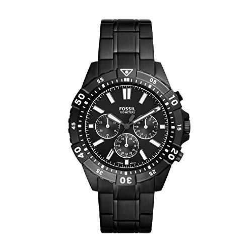 Fossil - Reloj de Cuarzo de Acero Inoxidable para Hombre FS5773