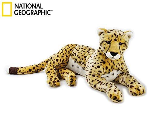 National Geographics Gepard, knuffel, groot, natuurlijk