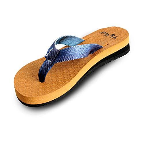 Sandália Ortopédica Fly Feet Anabela Feminina, Ortho Pauher, Caramelo, 33/34, Pacote de 2
