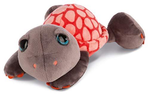 NICI 42918 Kuscheltier Schildkröte Snazzy, 35 cm, rot/braun