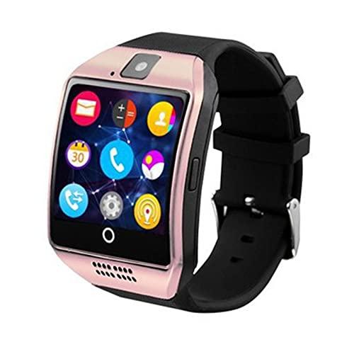 Yuwe Q18 Bluetooth Smart Watch Pantalla táctil Cámara Soporte Tarjeta Sim Tarjeta SD Radio FM Cámara de Pantalla táctil Ordenador portátil