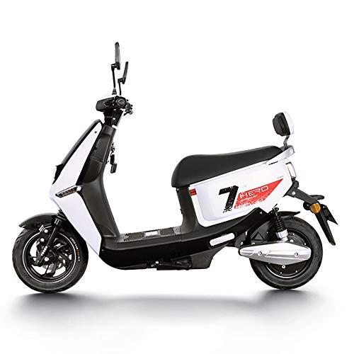 CHEZI Electric bicycle60 V Elektroauto Vakuum Reifen Batterie Auto Licht Elektrische Motorrad Scheibenbremse Trommelbremse Weiß