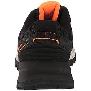 Avia Men's Avi-Ultra Trail Running Shoe, Black/Grape Leaf/Shocking Orange, 11.5