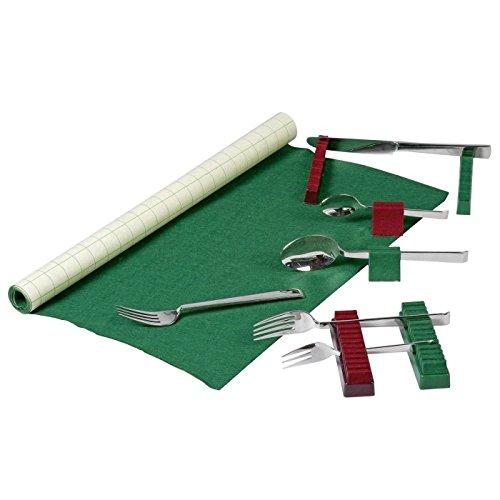 Gebr. Buchholz Besteckhalter mit Anlaufschutz grün