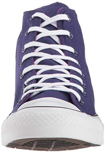 Converse Women's Chuck Taylor All Star 2018 Seasonal High Top Sneaker, New Orchid/icon Violet, 5.5 M US