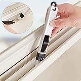 2 in1 Ventana de limpieza del cepillo de limpieza Cranny teclado de cocina casera plegable herramienta de limpieza de cepillo-2pc