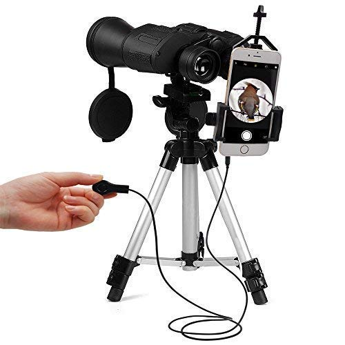 New Universal Cell Phone Adapter Mount-Compatible with Binocular Monocular Spotting Scope Telescope - for iPhone Sony Samsung Moto Etc (Mount)