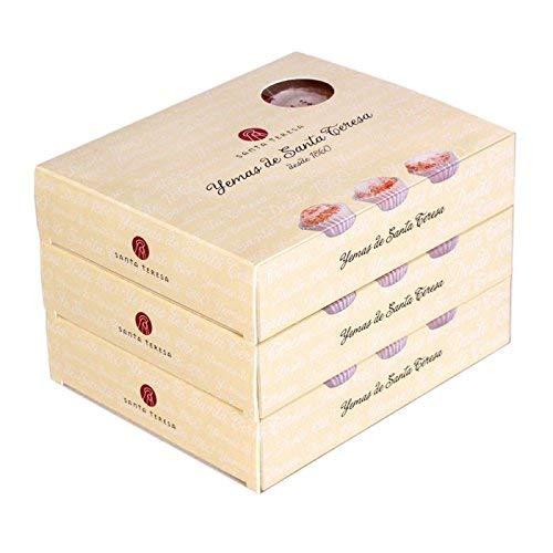 Pack de 3 cajas de Yemas tradicionales de Santa Teresa - 12 unidades x 3 cajas