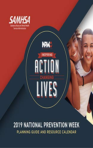 2019 National Prevention Week Planning Guide And Resource Calendar (English Edition)