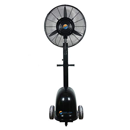 12 Gallon - Cool-Off Island Breeze Oscillating Misting Fan - 26-Inches