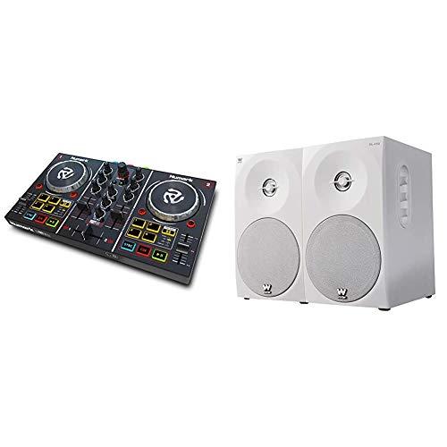 Numark Party MixControlador de DJ plug-and-play de 2 canales para...