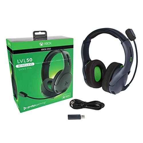 PDP 048-025-NA-BK Xbox One LVL50 Wireless Stereo Gaming Headset for Xbox One, 048-025-NA-BK