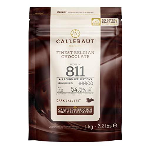 Callebaut 54% pepitas de Chocolate Negro (callets) 1kg