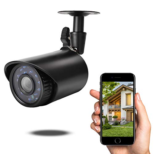1080p HD-camera, waterdichte 2MP HD analoge AHD IR-camera met 24 stuks infraroodlichten, weerbestendige bewakingscamera-installatieset Pal-systeem.