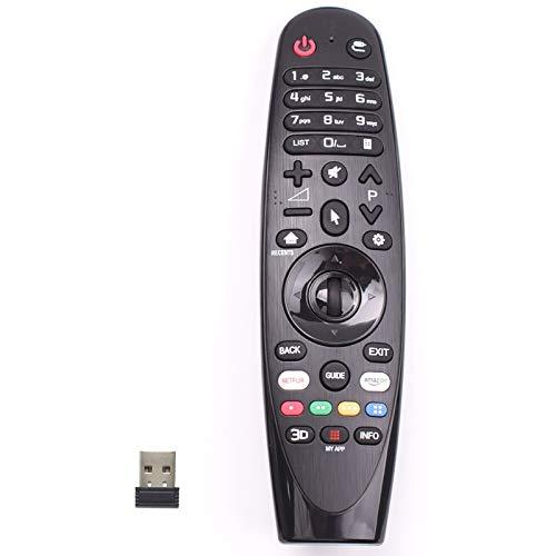 Basage AN-MR600 - Mando a distancia para Smart TV AN-MR650A MR650 y MR600 MR500 MR400 MR700 AKB74495301 AKB74855401