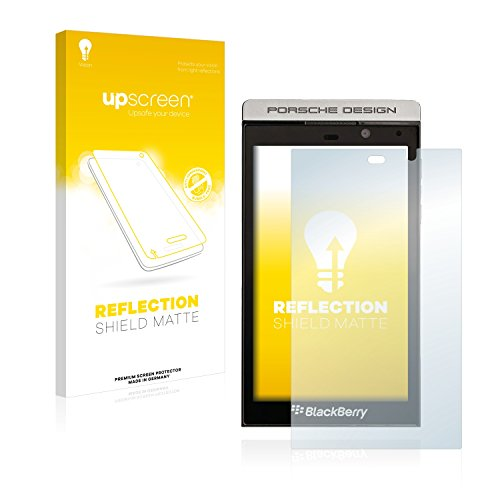 upscreen Entspiegelungs-Schutzfolie kompatibel mit BlackBerry P9982 Porsche Design – Anti-Reflex Bildschirmschutz-Folie Matt