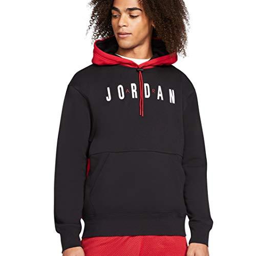 Nike Herren Jordan Jumpman Air Graphic Hoodie Schwarz M