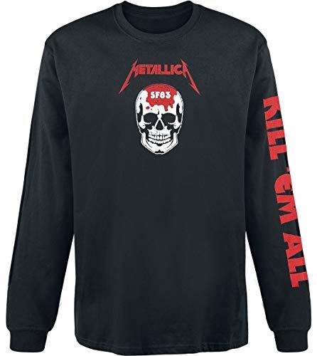 Metallica Kill 'Em All - Skull Langarmshirt schwarz L