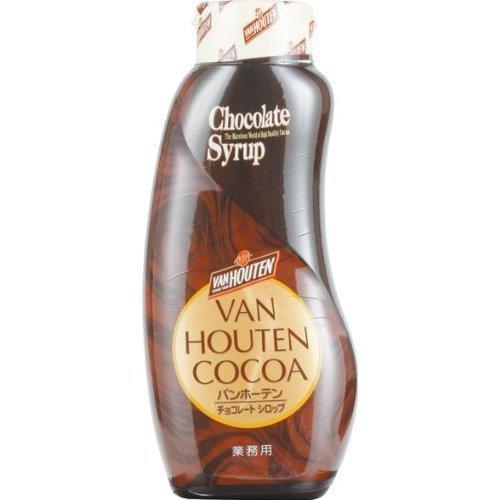バンホーテン・チョコレートシロップ・630g ×1個