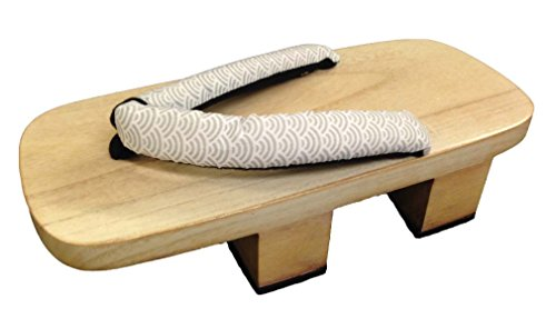 Raised Japanese style Geta Wooden Sandals