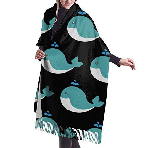 AOOEDM Perfect Gift - Bufanda Pashmina para mujer y niña Abrigo de chal de mezcla de cachemir