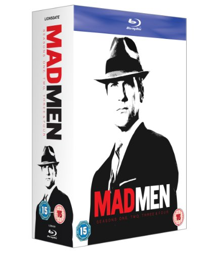 Mad Men - Seasons 1-4 [UK Import] [Blu-ray]