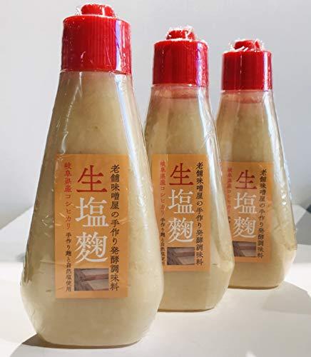 マルコ醸造『老舗味噌屋の手作り発酵調味料 生塩麹』