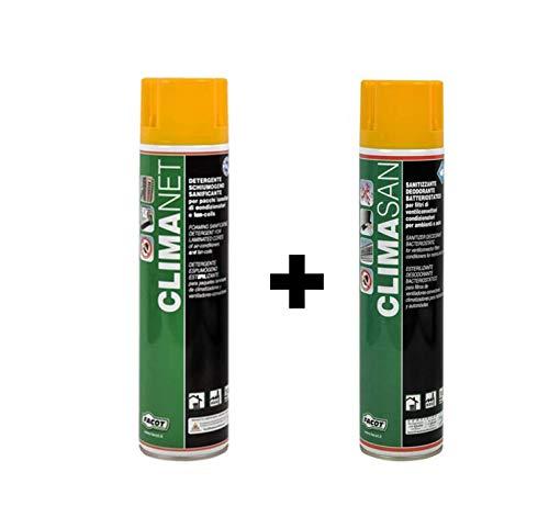 Sanitizzante e Detergente deodorante per climatizzatori Sanificante split igienizzante condizionatori antibatterico
