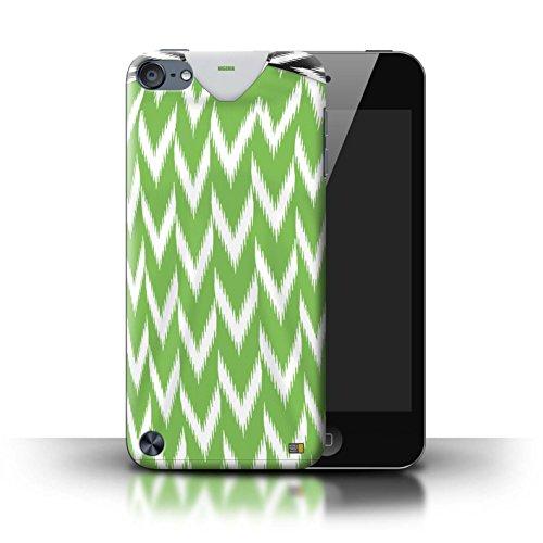 Stuff4® Custodia/Cover/Caso/Cassa Rigide/Prottetiva Stampata con Il Disegno Coppa Mondo 2018 Maglietta Calcio per Apple iPod Touch 5 - Nigeria/Nigeriano
