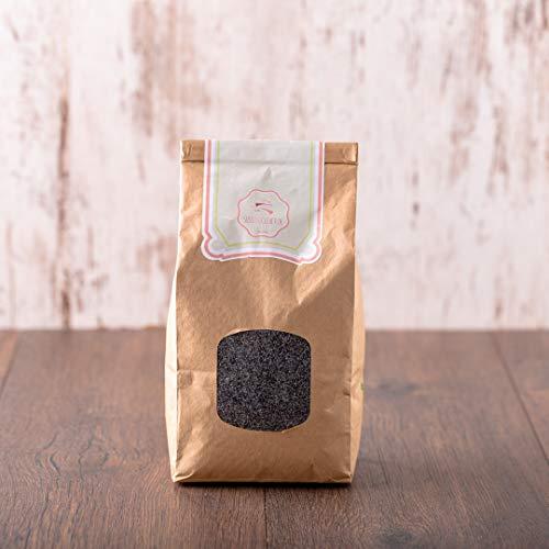 süssundclever.de® Bio Blaumohn   1 kg   aus Deutschland   plastikfrei und ökologisch-nachhaltig abgepackt