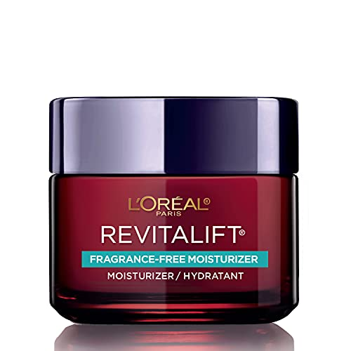 L'Oreal Paris Skincare Revitalift Triple Power Fragrance-Free Face Moisturizer with Pro Retinol, Hyaluronic Acid & Vitamin C, Reduce Wrinkles, Firm and Brighten Skin, 2.55 Oz