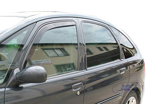 J&J AUTOMOTIVE Derivabrisas para Citroen XSARA Picasso 5 puerta 1999-08 2pcs
