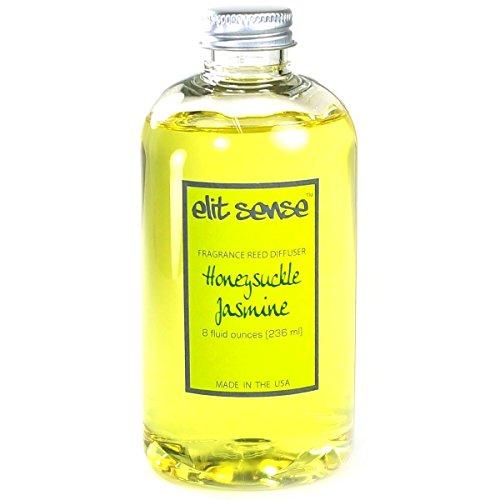 Elit Sense 8 oz Reed Diffuser Scented Oil Refill - Floral (Honeysuckle Jasmine)