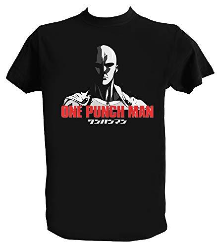 T Shirt One Punch Man Homme Enfant Saitama Oppai Tee Shirt Anime Manga Japonais, Enfant 1-2 Ans