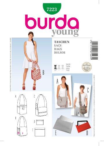 Burda Schnittmuster 7223 Taschen,Bags,Sacs,Bolsos
