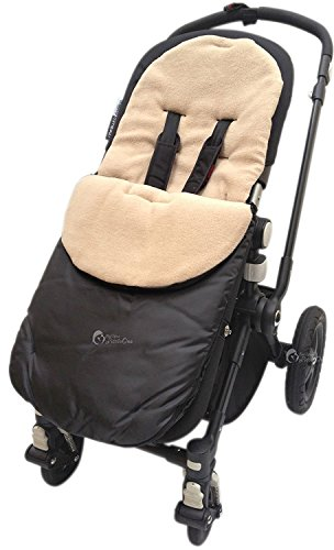 Chicco Chancelière/Cosy orteils Compatible avec Urban London Echo Multiway Lite Way Sable