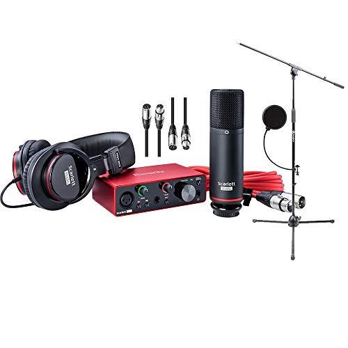 Focusrite Scarlett Solo Studio Pack 2nd Gen & Recording Bundle Review