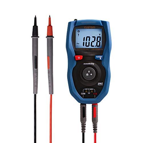 カスタム(CUSTOM) 防塵防水デジタルマルチメータ CDM-2500WP