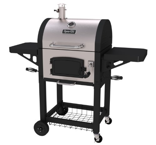 Dyna-Glo DGN405SNC-D Heavy Duty Stainless Charcoal charcaol Grill, Standard