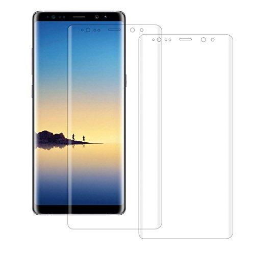 Liamoo Samsung Galaxy Note 8 - Set di 2 pellicole protettive per display, colore: Trasparente