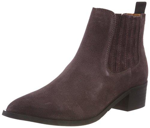 SELECTED FEMME Damen SLFELENA New Suede B Chelsea Boots, Braun (Decadent Chocolate Decadent Chocolate), 38 EU