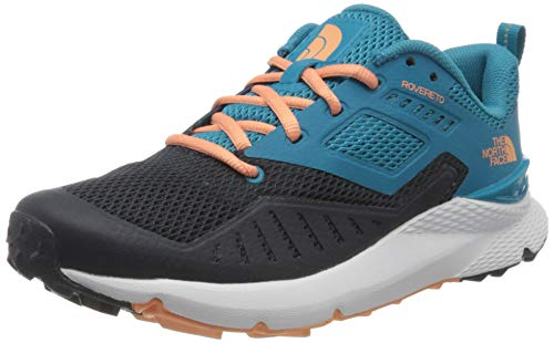 The North Face Womens Rovereto, Zapatilla de Correr Mujer, Mar Caribe, 36 EU
