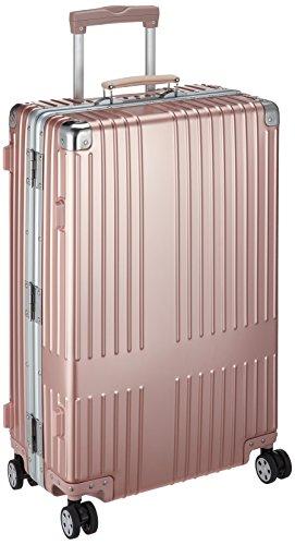 [イノベーター] スーツケース アルミキャリー フレーム   67L   ブランドロゴレーザーなし   TSAダイヤルロック   双輪キャスター   多段階調整キャリーバー   保証付 69 cm 5.8kg ローズゴールド