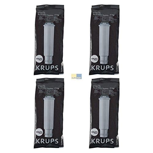 4 KRUPS Claris Filterpatrone F088