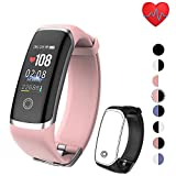 Smart Watch with Blood Pressure Monitor,Fitness Tracker Watch with Blood Oxygen Heart Rate Monitor, Smart Pedometer Sleep Monitor Step Counter Watch for Women Kids Men
